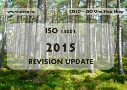 ISO 14001 CISEO