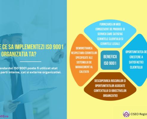 DE CE SA IMPLEMENTEZI ISO 9001 IN ORGANIZATIA TA?