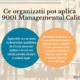 Ce organizatii pot aplica ISO 9001 Managementul Calitatii