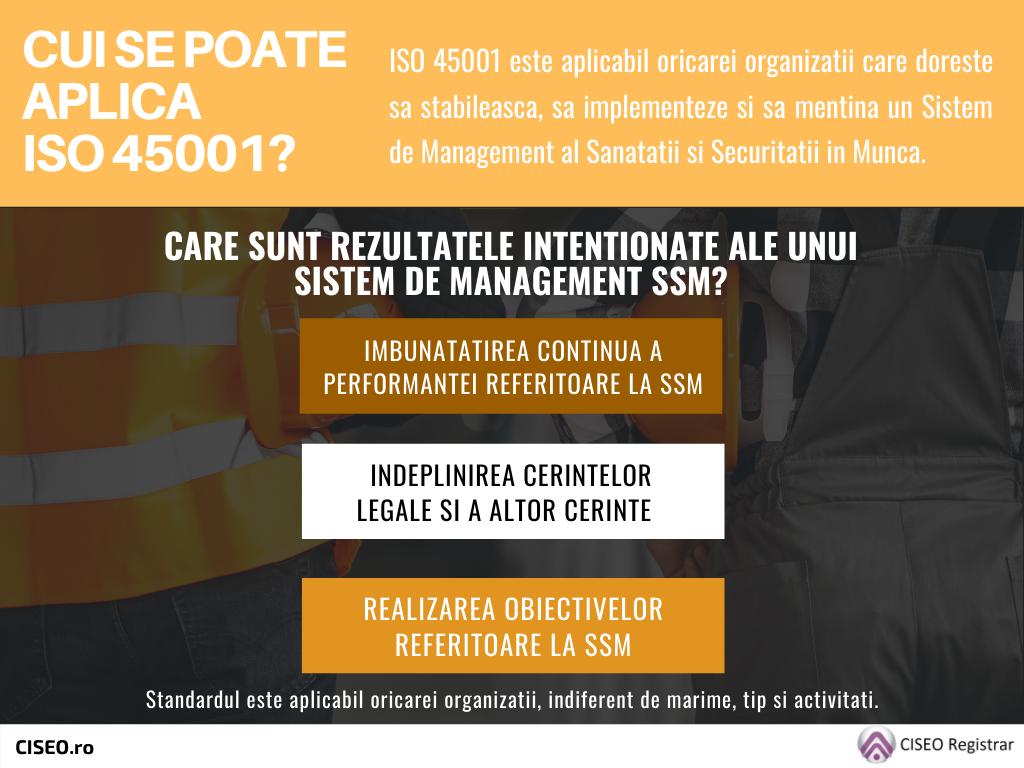 Cui se poate aplica ISO 45001