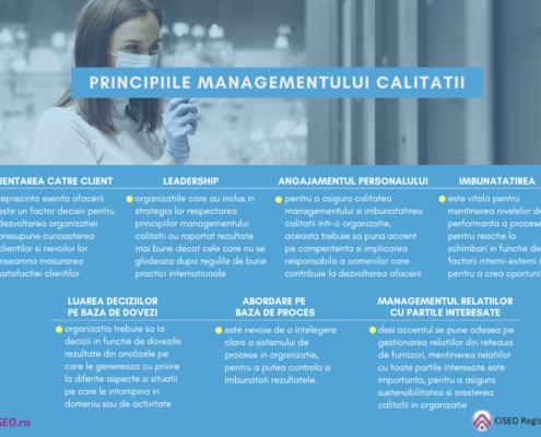 Principiile managementului calitatii