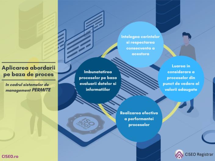 Aplicarea abordarii pe baza de proces in cadrul sistemelor de management